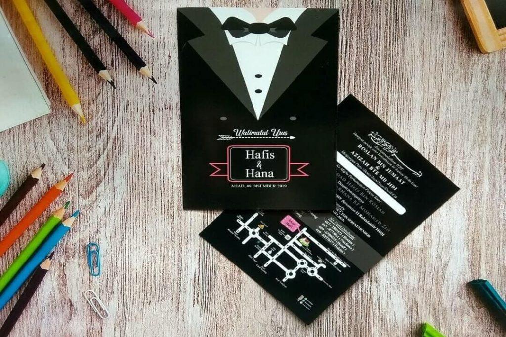 Johor Top 10 Perkhidmatan Design Kad Jemputan Di Projek Kad Kahwin